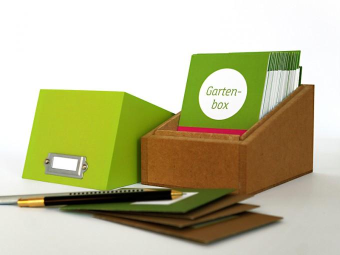 sperlingB _ GARTENBOX special: Gartentagebuch, Pflanzensammlung, Samentüten, ...