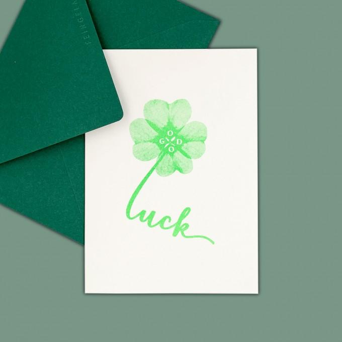 Feingeladen // TYPOGRAFICA // Good Luck (FG) – A6