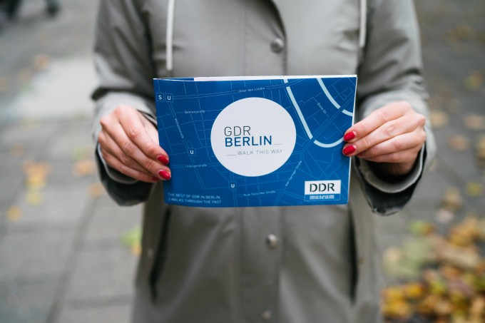 GDR Berlin Map (DDR) - Walk This Way