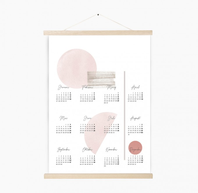 Kruth Design KALENDER 2020 / GEO ROSE