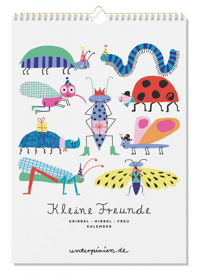 UNTER PINIEN – Kleine Freunde – Geburtstagskalender