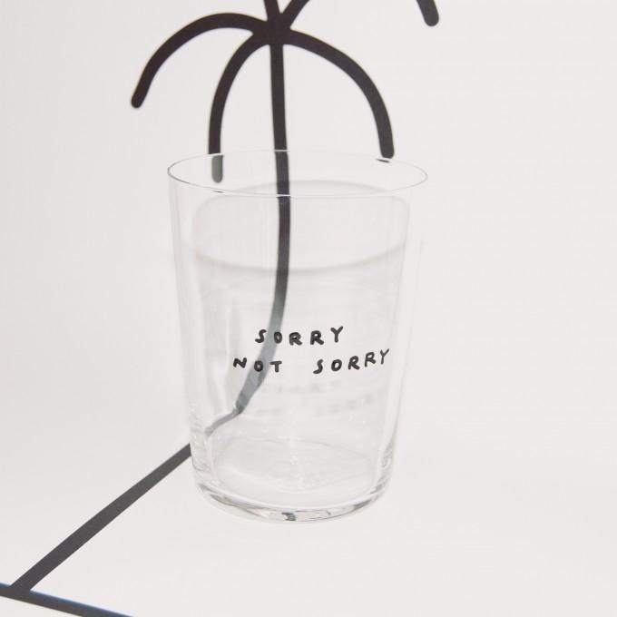 SORRY NOT SORRY Glas – Johanna Schwarzer