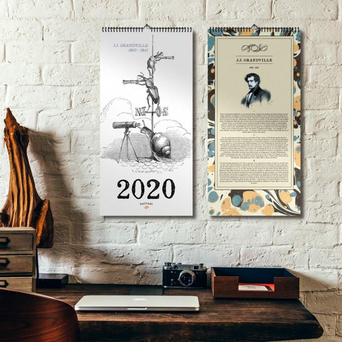 GRANDVILLE KALENDER 2020 – DAC.design
