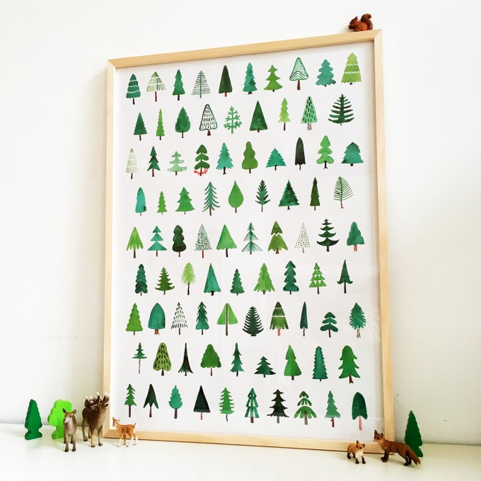 likemotherlikeson – Waldposter