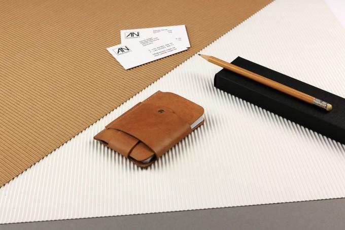 Alexej Nagel Gentleman Slim Wallet aus Vintage Leder - Vintage [V]