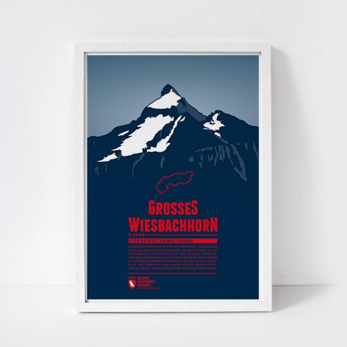 Marmota Maps – Großes Wiesbachhorn  - Bergdruck