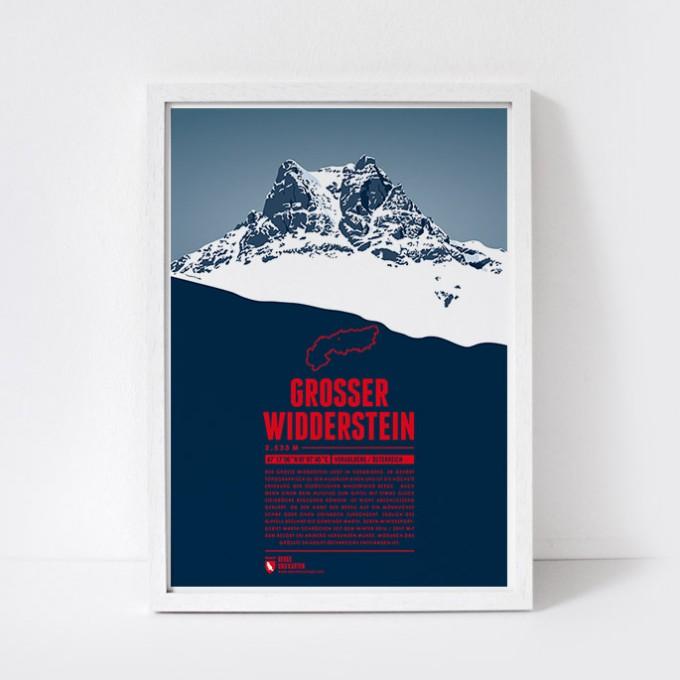 Marmota Maps – Grosser Widderstein - Bergdruck