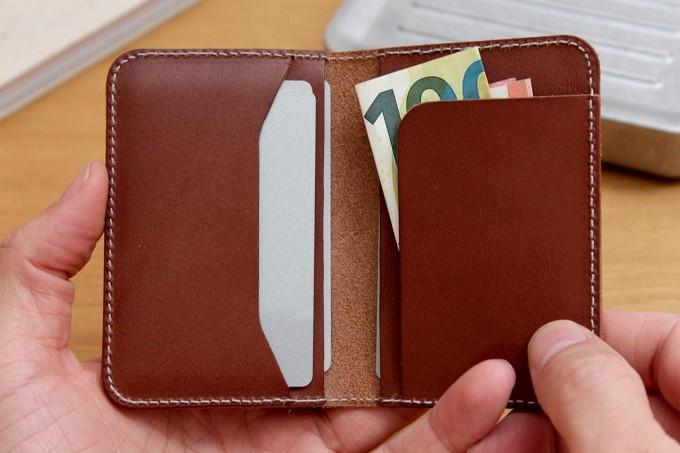 Portemonnaie, Kartenetui, Geldbörse, Bi-Fold Wallet - Pack & Smooch