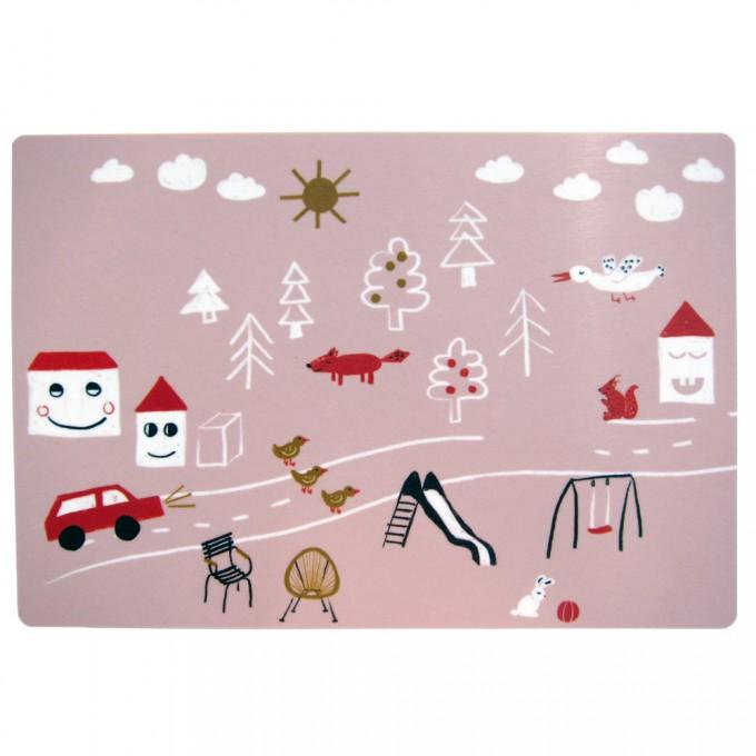 nuukk – Kleines Schneidebrett Happy Houses