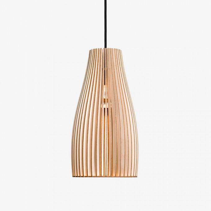 ENA Pendelleuchte aus Holz (natur)