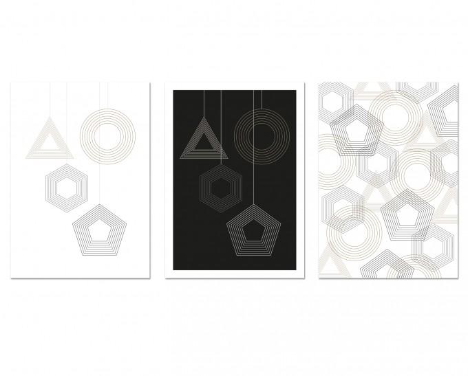 "3 Held&Lykke Weihnachtskarten ""GeoMail I"""