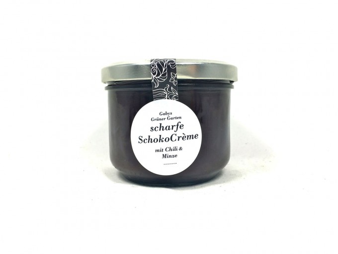 Gabys Grüner Garten scharfe Schoko Crème 250g