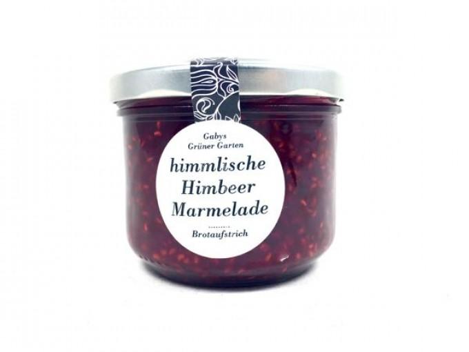 Gabys Grüner Garten himmlische Himbeer Marmelade 250g