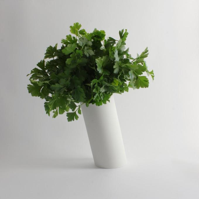Moderne Vase für Blumen \ Porzellan by ORTOGONALE
