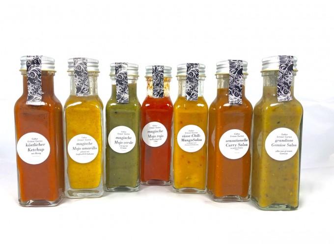 Gabys Grüner Garten sieben sensationelle Saucen 700g