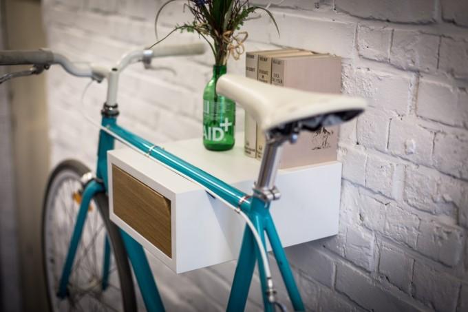 FRITZ | Fahrrad Wandhalterung aus Holz | Fahrradwandhalter | Bicycledudes