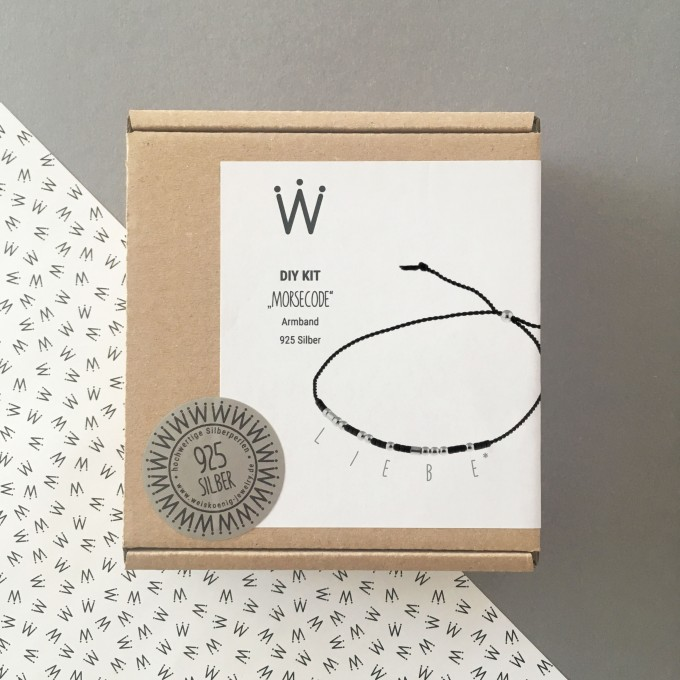 "DIY KIT ""MORSECODE"" Armband925er Silber – Weiskönig Jewelry"