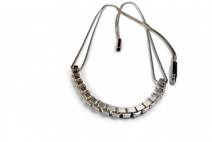 Comtesse de la Haye Venezia Collier Silber oder Silber geschwärzt