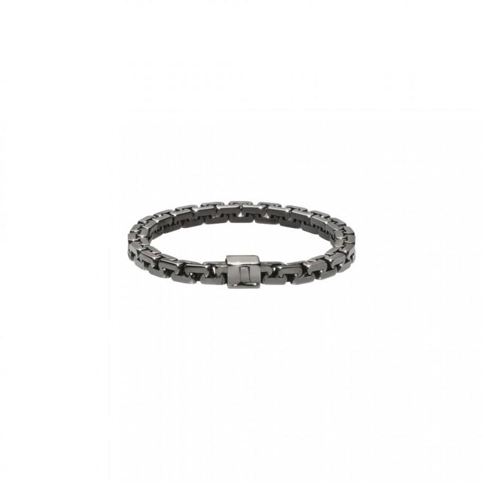 Jasmina Jovy Jewellery Hidden Faces Kettenring RIHF03 black rhodium