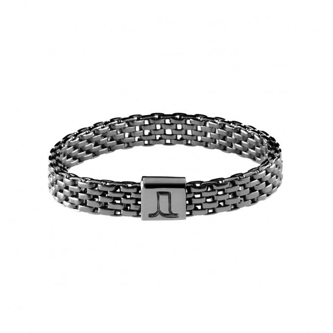 Jasmina Jovy Jewellery Decode! Mesh Ring RIDC00 fine black rhodium