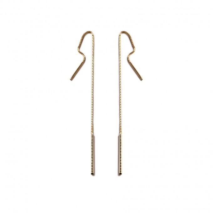 Jasmina Jovy Jewellery Printed Delusion Ohrringe EAB002 gold