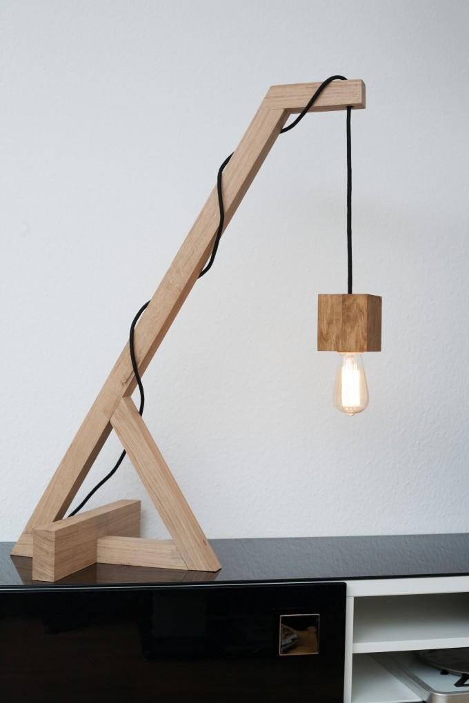 JL-Holz Stehlampe