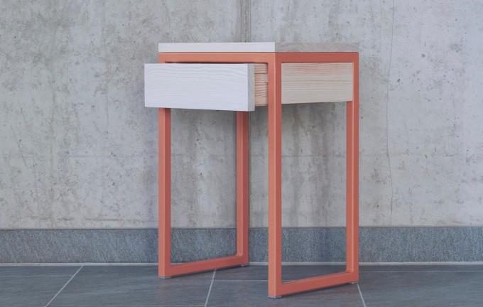 Nachttisch - Beistelltisch LUBERON mit Schublade | JOHANENLIES