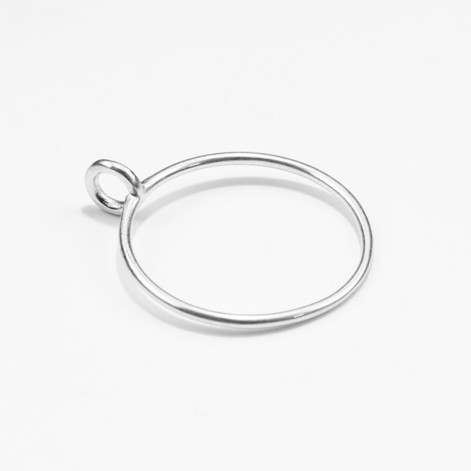 Jonathan Radetz Jewellery, Ring LOOP, Silber 925