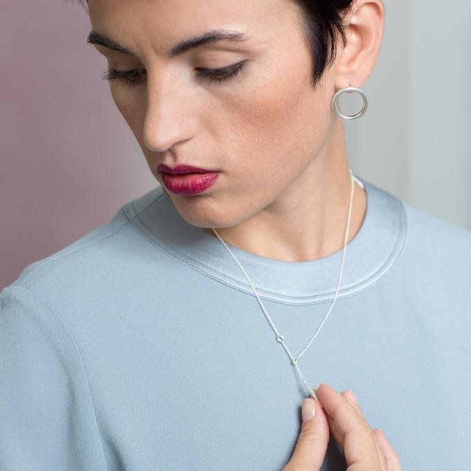 Jonathan Radetz Jewellery, Kette SCORE, Silber 925, Sterlingsilber, Handmade in Germany