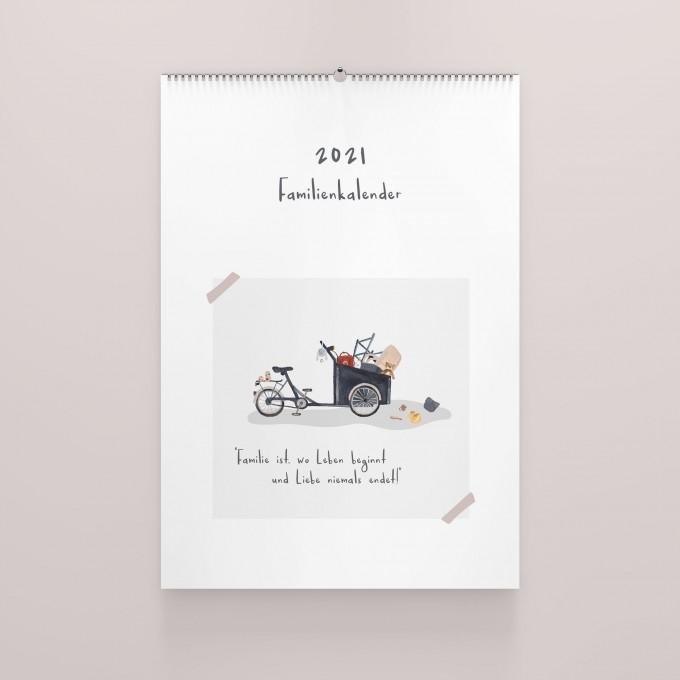 Familienkalender 2021 A3 - elliet