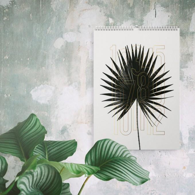Wandkalender / Plants 2019