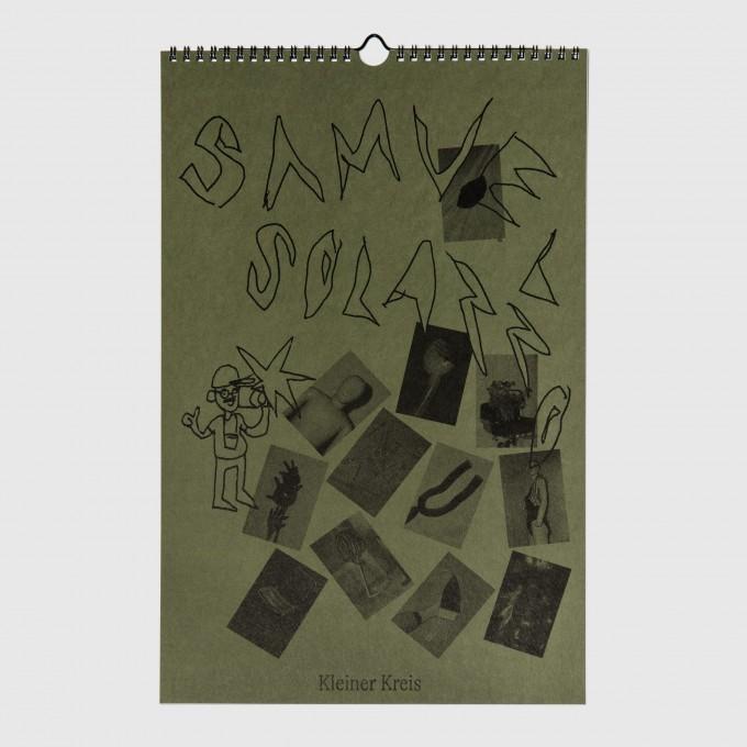 Kleiner Kreis   Samuel Solazzo Kalender (Risographie-Druck)