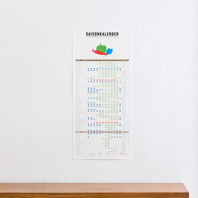 KLEINWAREN / VON LAUFENBERG Saisonkalender als Einkaufshilfe