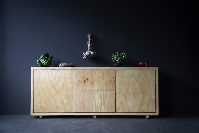 FraaiBerlin – Kommode im Landhausstil Luan aus Bauholz