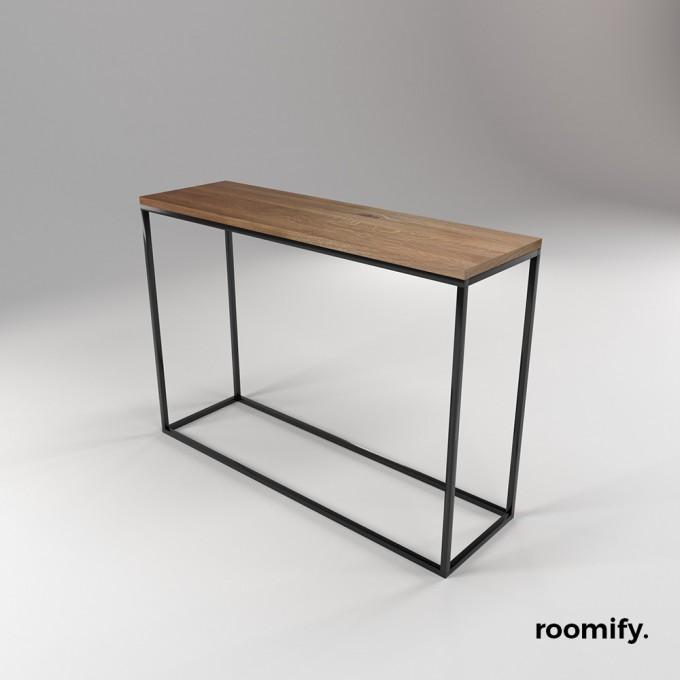 roomify Konsole / Konsolentisch LINNEA black