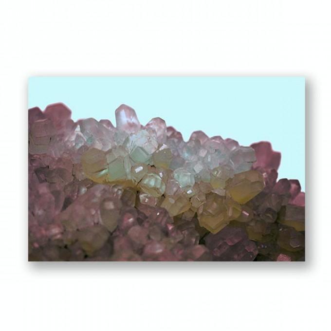"ZEITLOOPS ""Kristall III"", Fineartprint 40x60 cm"
