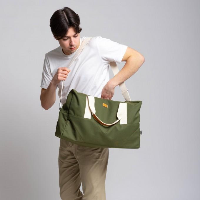 MULINU Reisetasche CLASSIC LASSE Khaki