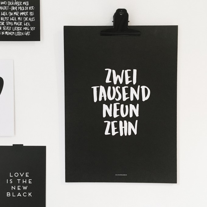 Love is the new black – Kalender 2019