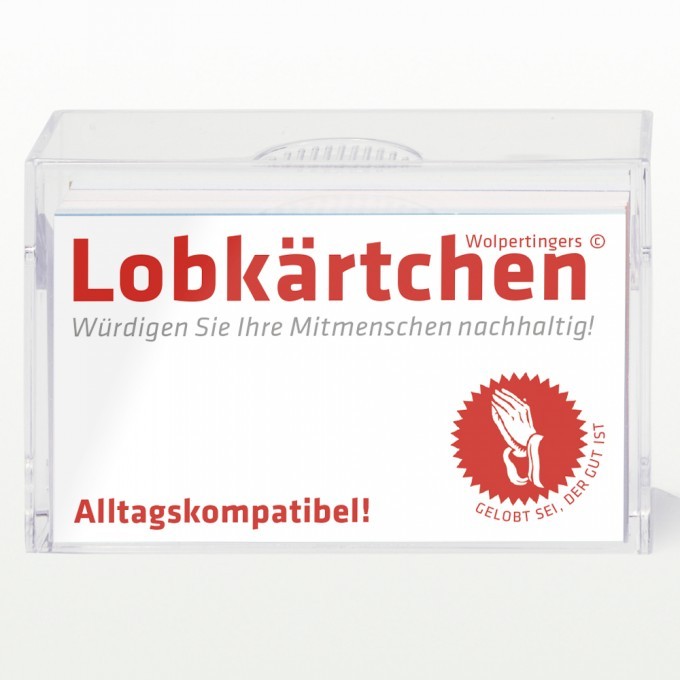 Lobkärtchen ©