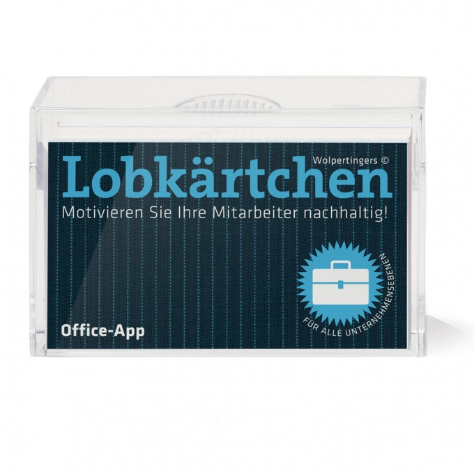 Lobkärtchen © Office