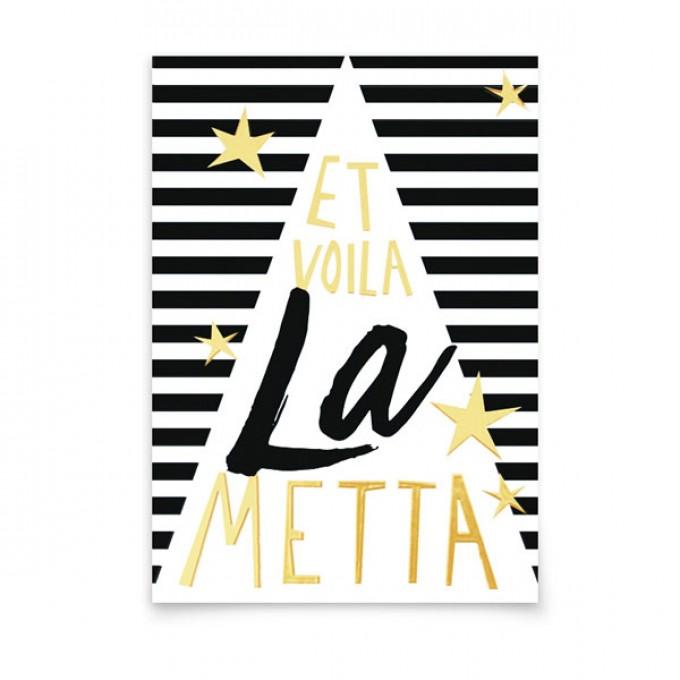 aprilplace // La Metta // Weihnachtskarte A6