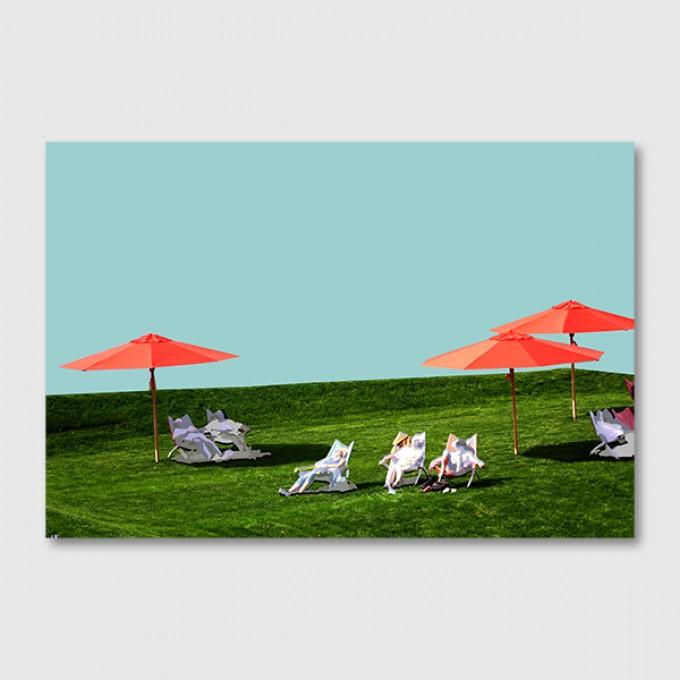 """ZEITLOOPS """"Landesgartenschau I"""", Posterprint 40x60 cm"""