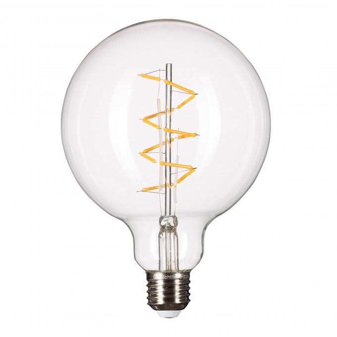 Lichtliebe Edison Spiral Led Leuchtmittel Im Retro Design Mit Nur 1