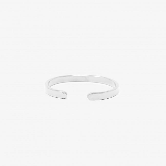 Lois Mathar Armband, Edelstahl, breit: 6 mm