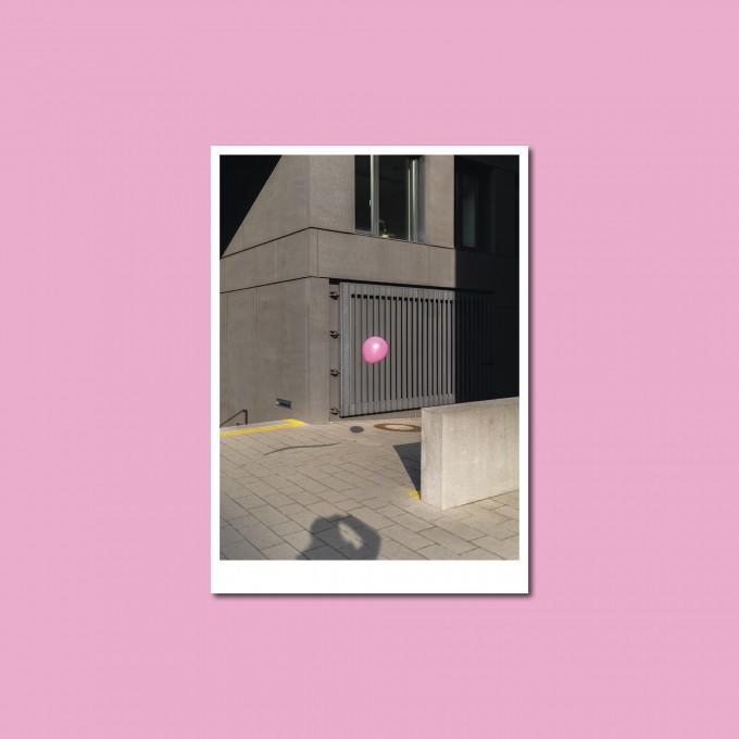 'Luftballon' Postkarte, DIN A6, klimaneutral gedruckt / Ankerwechsel Verlag
