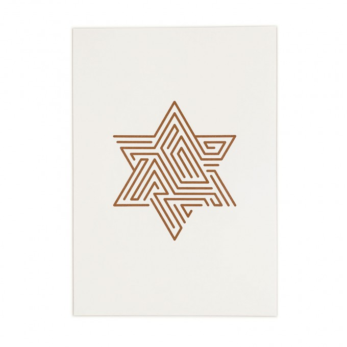 Feingeladen // LINE ART // Star (CP), RISO-Kunstdruck, A5