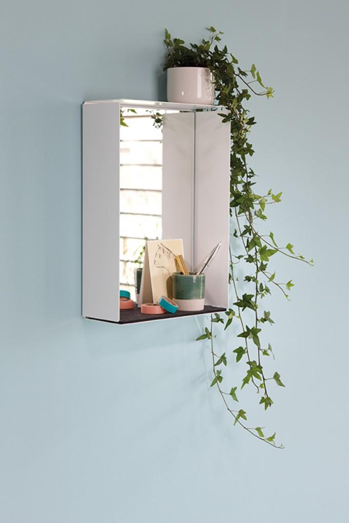 Konstantin Slawinski MIRROR-BOX Spiegelschrank (weiß)