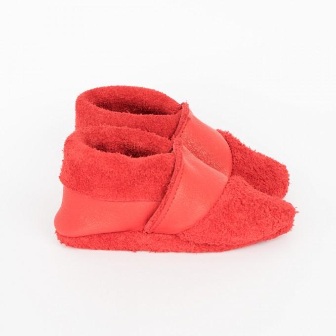 Franziska Klee Babyschuhe MOQ // Rot