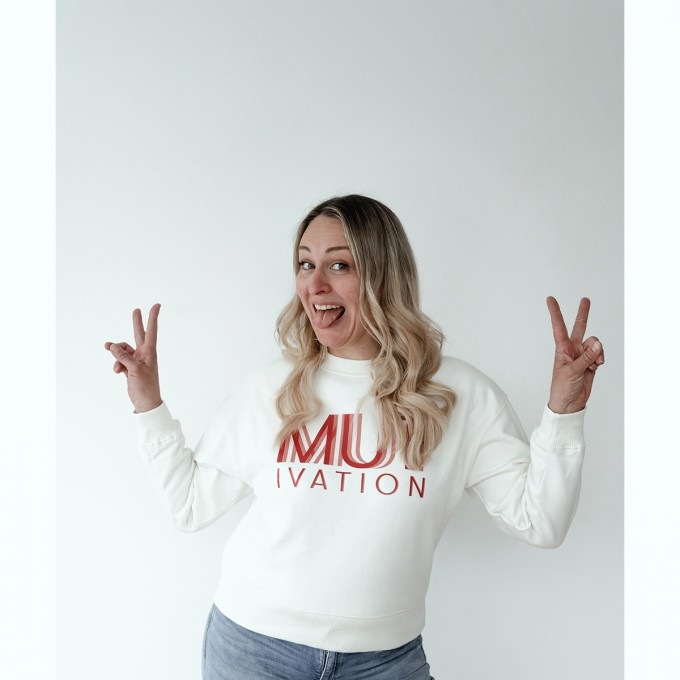 sweatshirt MUT.IVATION – PULS good stuff