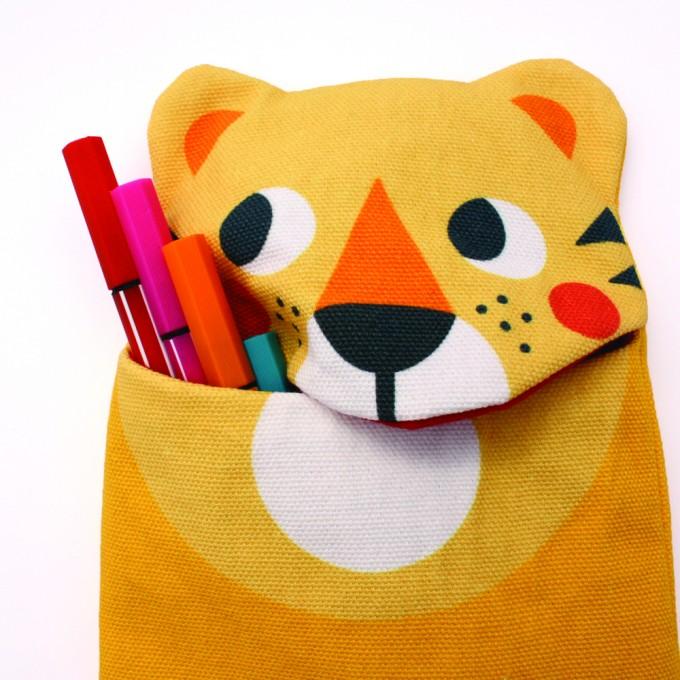 julica-design zookids Stiftemäppchen Tom Tiger